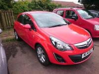 VAUXHALL CORSA 1.0 ecoFLEX Excite 3dr (red) 2014