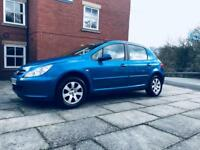 Peugeot 307 1.4 hdi , £30 year road tax , 12 mths mot