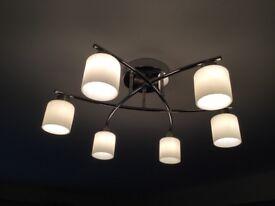Elegant 6 Bulb Ceiling Light - Marks and Spencer
