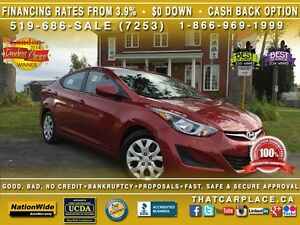 2015 Hyundai Elantra GL-Bluetooth-Htd Sts-USB/AUX outlets-Loaded