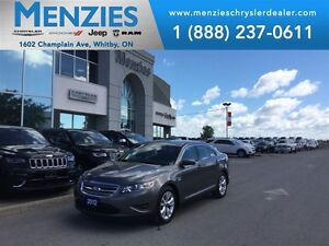 2012 Ford Taurus SEL, Bluetooth, Sirius, Leather, Clean Carproof