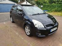 2008 Toyota Corolla Verso 1.8 T3 Multimode 5dr Automatic @07445775115