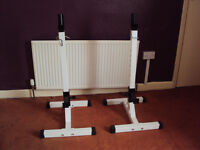 Adjustable Heavy Duty Squat /Bench Stands