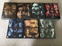 X-FILES DVD complete series 1-7 Unwatched