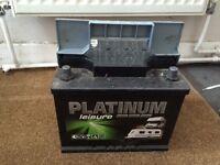 Platinum leisure battery for caravan / campervan
