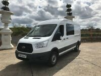 *** 2014 FORD TRANSIT CREW VAN R.W.D 3500 FULL SERVICE HISTORY FROM NEW ***