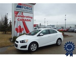 2015 Chevrolet Sonic LT Front Wheel Drive - 43,509 KMs, Seats 5