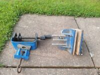 Paramo Woodworking vise 6 inch and B&D portable vise