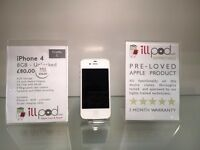 iPhone 4 - 8GB - Unlocked - White - SPECIAL PRICE
