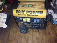 WOLF POWER PETROL GENERATOR