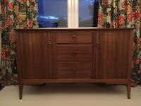 Circa1950s wooden sideboard