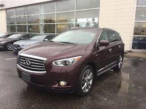 2014 Infiniti QX60 TOP OF THE LINE WITH DVD,$262.23 BI-WEEKLY !