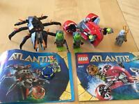 2 LEGO ATLANTIS SETS