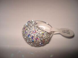 Shimmering Stone Ring