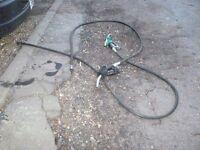 Fuel bowser nozzle and hose