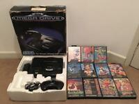 Megadrive and 15 games