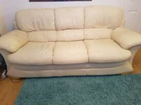 3+2seater couch and footstool