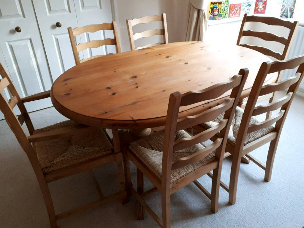 solid pine dining room furniture  in drayton norfolk