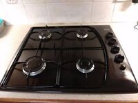 Creda Dark Brown Gas Hob