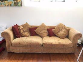 Large Soft Wide Sofa - Amazing Quality Barely Used