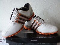 Used only a few times Adidas tour 360 golf shoe size 11