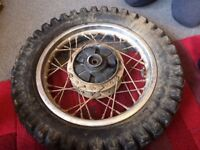 PIT BIKE WHEELS TYRES300-12 WHEEL TYRE AND 2-50-14 TYRE AND WHEEL FRONT AND BACK