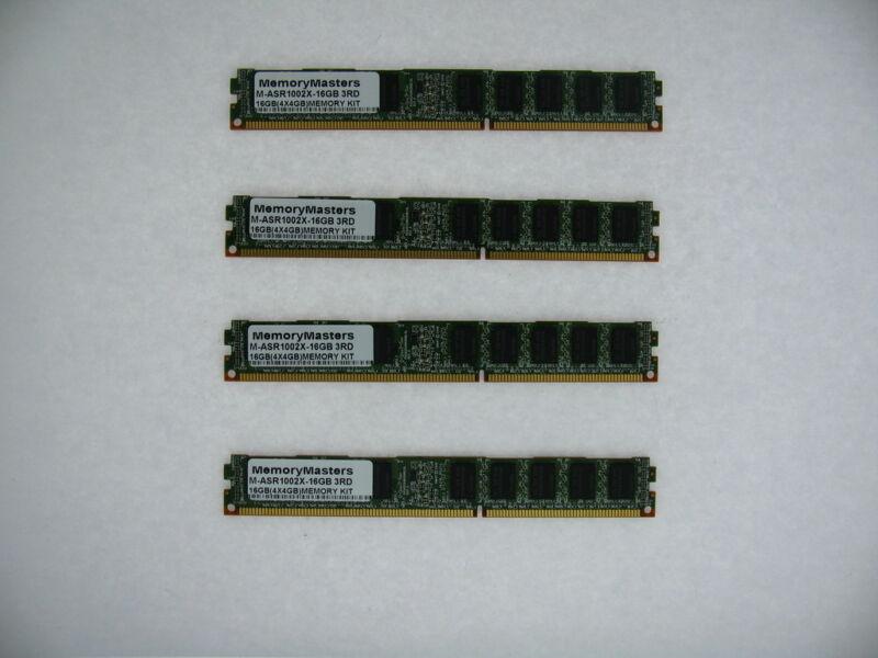 M-ASR1002X-16GB 4x4GB 16GB Memory Kit 3rd Party Upgrade Cisco ASR 1002-X TESTED