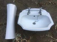 Ideal Standard Bathroom Sink Basin & Pedestal
