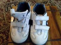 Kids Ralph Lauren White Shoes
