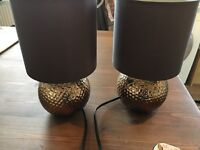 Pair of bedside lamps John Lewis