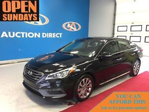 2015 Hyundai Sonata Sport, ALLOYS, PANO ROOF, HEATED SEATS FRONT