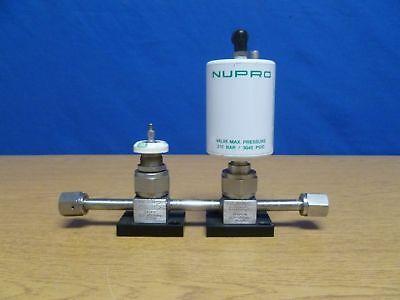 Nupro 6lv-hdbw6-p-cr1 Valve System With Filter  G22