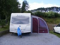 (ProvisionallySold)Bailey Ranger 470/4 2007, 4 berth touring caravan with porch awning - Lancashire