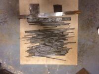 Job lot silver steel and gauge plate. Milling. Lathe. Post U.K.