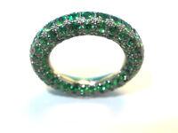 Mémoire Tsavorite Allianz-anello Con Circa 4.00 Carato / Oro 14kt14kt /585x - allianz - ebay.it