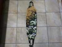 Sector 9 **Carbonite Double Platinum** drop through longboard deck - Very Good Condition.