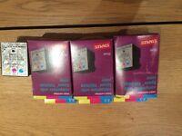 Staples Epson compatible colour ink x4