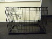 Small dog crate.