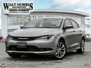 2015 Chrysler 200 S - LEATHER, HEATED SEATS, BLUETOOTH