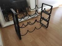 Wine rack - 3 tier stackable winerack