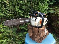 STIHL MS200 TOP HANDLE CHAINSAW.....