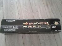 SILVERCREST KITCHEN TOOLS Raclette Grill long 1200w 6 serving