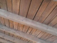 Reclaimed softwood beams,rafters,boards