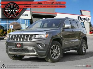 2014 Jeep Grand Cherokee LIMITED 4WD W/GPS NAVIGATION