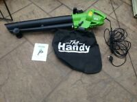 garden vac/leaf blower, bought brand new and used twice,no longer required Bargain £30