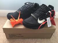Nike Off White Presto Black UK 6