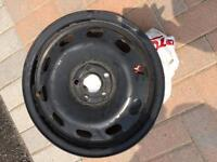 15 inch black rims from a Volkswagen Golf