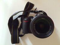 *AS NEW* Nikon D3100 Digital SLR Camera with 18-55mm VR Lens Kit (14.2MP) 3 inch LCD
