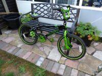 Muddyfox pulse BMX bicycle bike 8-10 yr olds