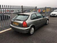 MID MONTH SALE 1998 Honda Civic 1,5 litre 3dr automatic